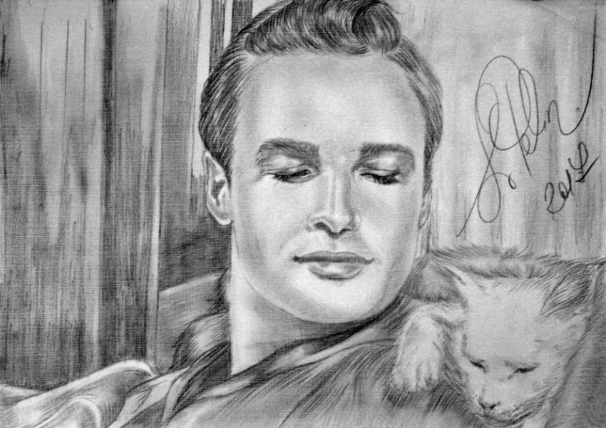Marlon Brando por svetliaciok